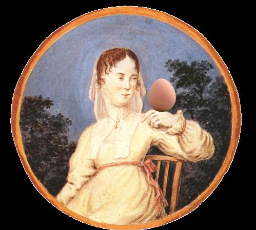 Retrato de dama menorquina de Joan Chiesa Bagur